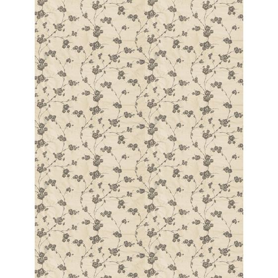 0027202 Reeves Floral Pewter Fabricut