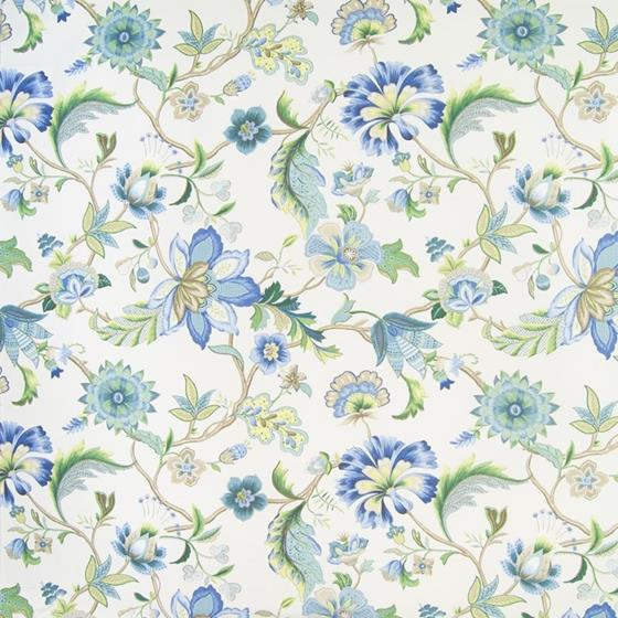 B2590 Blueberry, Blue Floral Multipurpose by Green