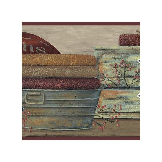 Cb5526bd Inspired By Color Borders York Wallpaper Country Bath Borderdiscontinued Limted Stock Call For Availability