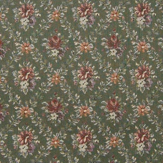 A8164 Moss, Green Tapestry Upholstery by Greenhous