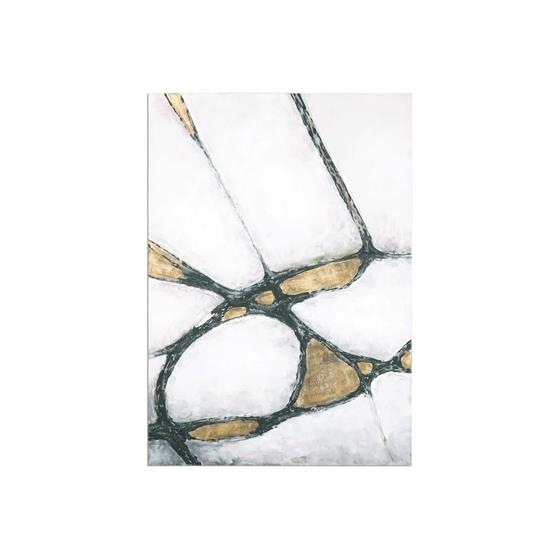 34352 Abstract in Gold and Black by Uttermost-3