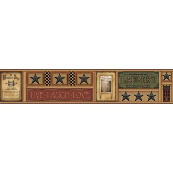 AC4381BD Country Keepsakes by York Wallpaper