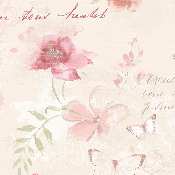 AB42431 Abby Rose 3 by Norwall Wallpaper