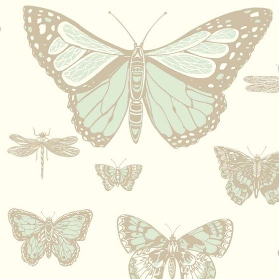 103/15065 Butterflies and Dragonflies Cole and Son Wallpaper