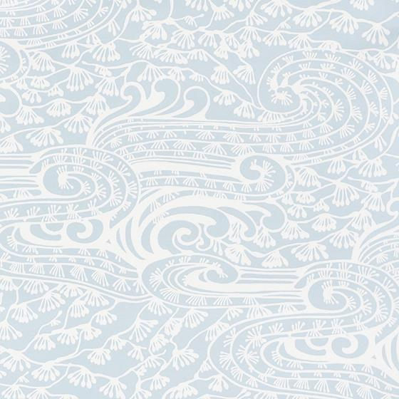 5008730 Mizu Sky by Schumacher Wallpaper