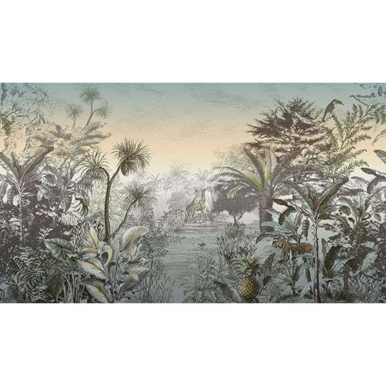300612 Skin Into the Wild Sunset Wall Mural by Eijffinger Wallpaper