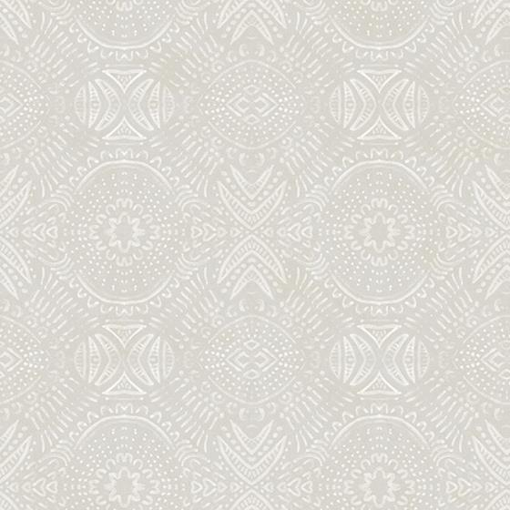 3118-12664 Birch and Sparrow Java Medallion by Chesapeake Wallpaper
