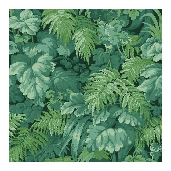 113-3009 Royal Fernery Forest Green by Cole and Son