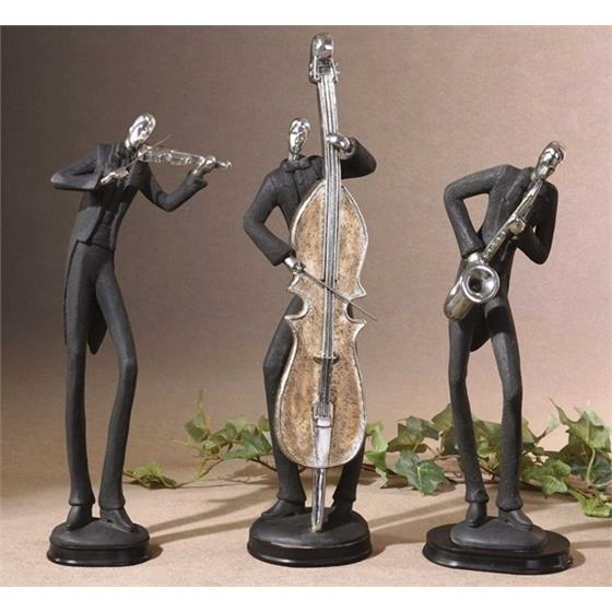 19061 Musicians Accessories S/3 by Uttermost