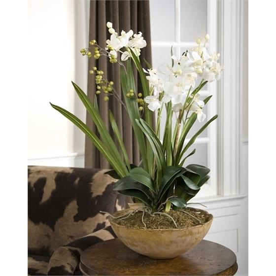 60039 Moth Orchid Planter by Uttermost