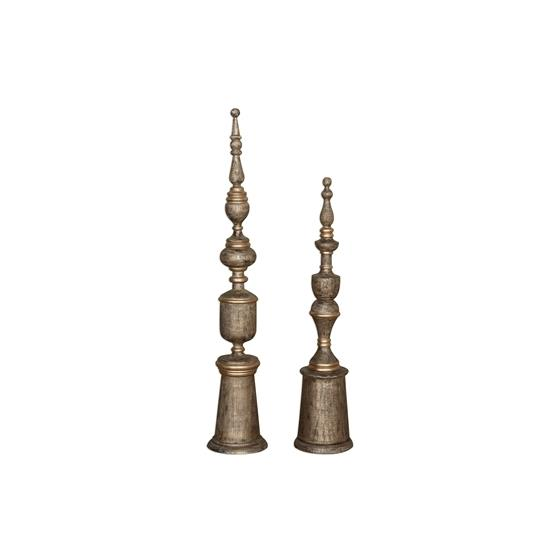 18847 Nalini Finials S/2 by Uttermost-3