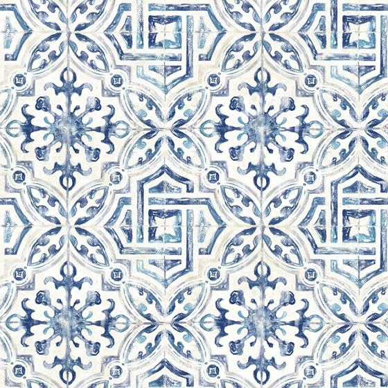 3117-12332 Sonoma Blue Spanish Tile The Vineyard by Chesapeake