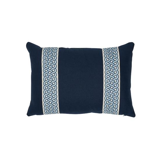 So7715315 Mandeville Pillow Indigo And Pacific By Schumacher Furniture and Accessories 1