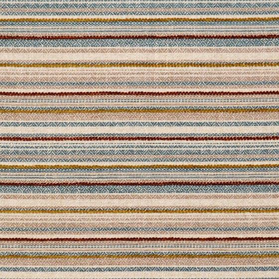 8336 Villa Multi, Multicolored Stripe Upholstery M