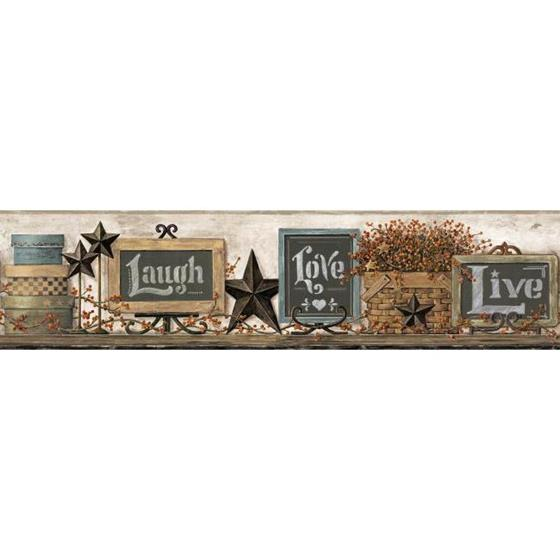AC4406BD Country Keepsakes by York Wallpaper