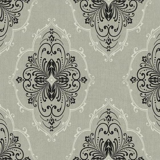 DD8401 Designer Damask by Ronald Redding Wallpaper