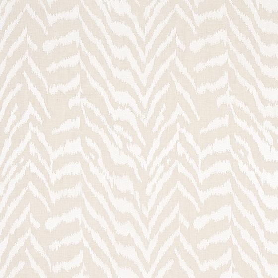 80670 Quincy Embroidery On Linen White By Schumacher Fabric 1