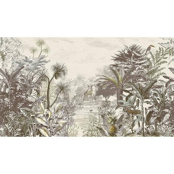 300610 Skin Into the Wild Natural Wall Mural by Eijffinger Wallpaper